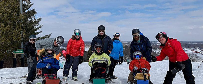 Ausblick Welcomes the S.E. Wi. Adaptive Ski Program (SEWASP)